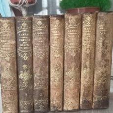 Libros de segunda mano: 7 TOMOS DE SELECTOS PANEGÍRICOS 1860. Lote 294815343