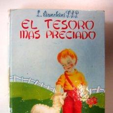 Libros de segunda mano: EL TESORO MÁS PRECIADO. L. BIANCHINI F.S.P. EDICIONES PAULINAS TAPA DURA. ILUSTRADO. Lote 294929288