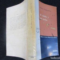 Libros de segunda mano: EL DIABLO Y LOS JUDIOS - JOSHUA TRACHENBERG - EDI PAIDOS 1ª 1965 BUENOS AIRES, CORREO 2.50€ + INFO. Lote 295723223