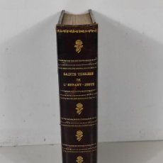 Libros de segunda mano: SAINTE THERÈSE DE L´ENFANT-JESÚS - HISTORORIE D´UNE AME - SANTA TERESA DE JESÚS. Lote 295789738