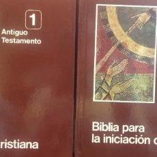 Libros de segunda mano: BIBLIA PARA COMPRENDER LA SAGRADA ESCRITURA. 3 TOMOS. ANTIGUO TESTAMENTO, NUEVO TESTAMENTO, GUIA PAR. Lote 296615388
