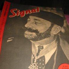 Libros de segunda mano: SIGNAL Nº 6. MARZO 1.943. CASTELLANO.. Lote 27517819