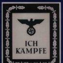 Libros de segunda mano: YO LUCHO [ICH KAMPFE] MANUAL PARA AFILIADOS AL NSDAP GASTOS DE ENVIO GRATIS. Lote 168297565
