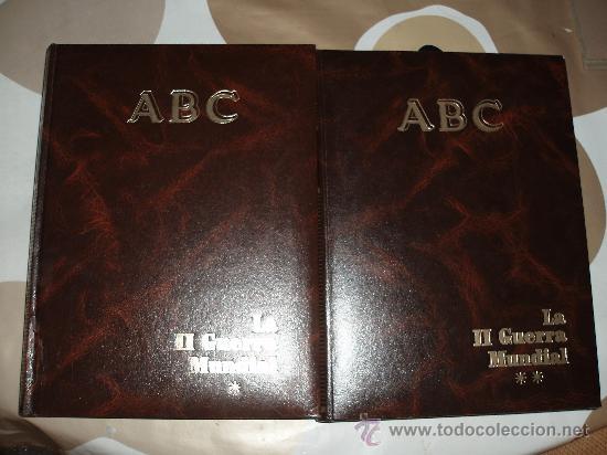 HISTORIA DE LA POST GUERRA ,PARIS MATCH + SEGUNDA GUERRA MUNDIAL, ABC-(4 TOMOS) (Libros de Segunda Mano - Historia - Segunda Guerra Mundial)