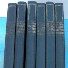 Libros de segunda mano: ANTIGUA ENCICLOPEDIA COMPLETA DE 6 TOMOS - ASI FUE LA SEGUNDA GUERRA MUNDIAL - NOGUER, RIZZOLI Y PUR. Lote 30180299
