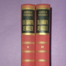 Libros de segunda mano: LA EUROPA DE HITLER. DOS TOMOS.. Lote 30133598