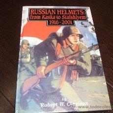 Libros de segunda mano: LIBRO RUSSIAN HELMETS 1916-2001. Lote 31917163