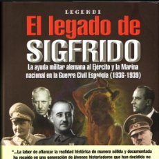 Libros de segunda mano: EL LEGADO DE SIGFRIDO. LUCAS MOLINA FRANCO.. Lote 32253057