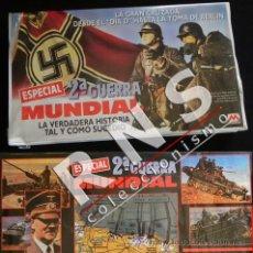Libros de segunda mano: 2ª GUERRA MUNDIAL ESPECIAL GRAN CRUZADA DÍA D TOMA BERLÍN 3 VHS DOCUMENTAL HISTORIA II -NO LIBRO. Lote 33090255