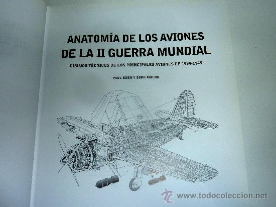 anatomia de los aviones de la ii guerra dibujos - Comprar Libros de ...