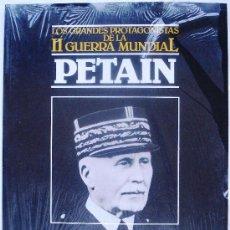 Libros de segunda mano: PETAIN - LOS GRANDES PROTAGONISTAS DE LA II GUERRA MUNDIAL Nº 15 ORBIS 1985 AÑOS 80 - NUEVO -. Lote 35042560