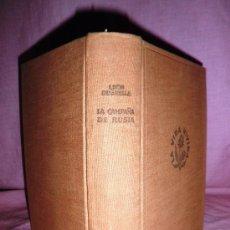 Libros de segunda mano: LA CAMPAÑA DE RUSIA - LEON DEGRELLE - 1º EDICION AÑO 1951.. Lote 35968377