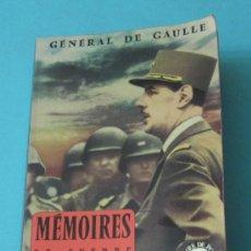 Libros de segunda mano: MÉMOIRES DE GUERRE 2. L'UNITÉ 1942-1944. GÉNÉRAL DE GAULLE. Lote 36434625