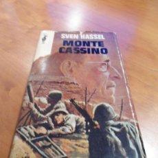 Libros de segunda mano: MONTE CASSINO SVEN HASSEL EDICIONES GP 1970 II GUERRA MUNDIAL. Lote 39093691
