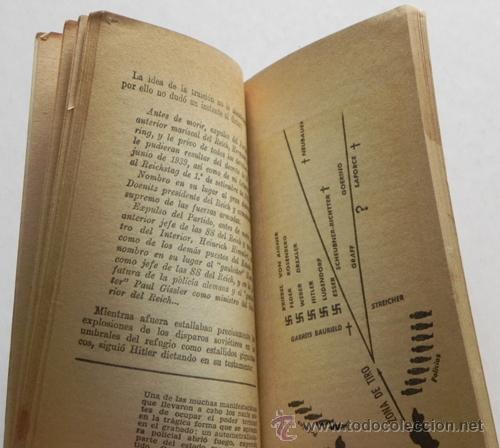 Libros de segunda mano: HITLER NO HA MUERTO - LIBRO ROGER MARCH - ADOLF HISTORIA II GUERRA MUNDIAL NAZI NAZIS MISTERIO 2ª GM - Foto 3 - 40001546