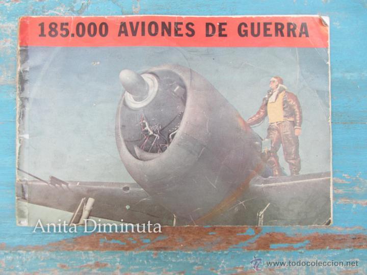 ANTIGUO FOLLETO - 185.000 AVIONES DE GUERRA - PROPAGANDA DE LOS ESTADOS UNIDOS EEUU - B17 VINDICATOR (Libros de Segunda Mano - Historia - Segunda Guerra Mundial)