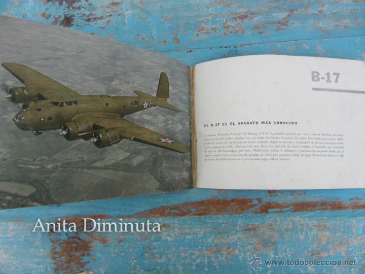 Libros de segunda mano: ANTIGUO FOLLETO - 185.000 AVIONES DE GUERRA - PROPAGANDA DE LOS ESTADOS UNIDOS EEUU - B17 VINDICATOR - Foto 3 - 40673327