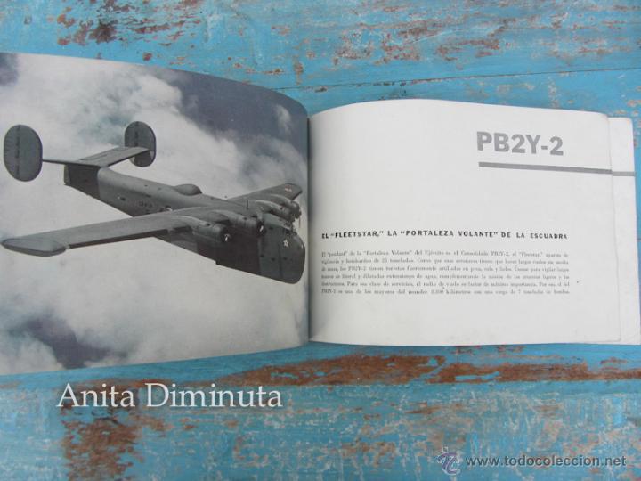 Libros de segunda mano: ANTIGUO FOLLETO - 185.000 AVIONES DE GUERRA - PROPAGANDA DE LOS ESTADOS UNIDOS EEUU - B17 VINDICATOR - Foto 4 - 40673327