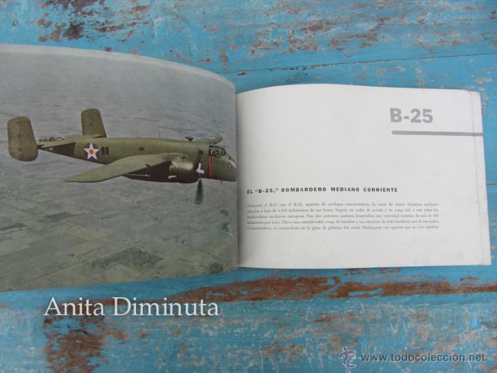 Libros de segunda mano: ANTIGUO FOLLETO - 185.000 AVIONES DE GUERRA - PROPAGANDA DE LOS ESTADOS UNIDOS EEUU - B17 VINDICATOR - Foto 6 - 40673327