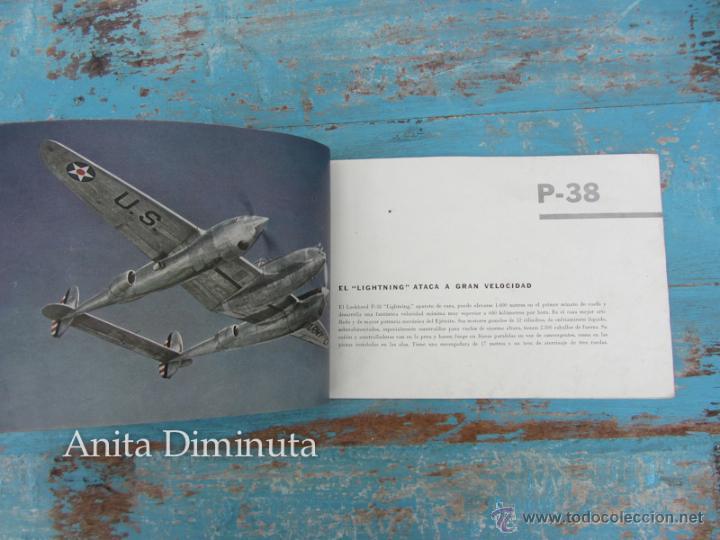 Libros de segunda mano: ANTIGUO FOLLETO - 185.000 AVIONES DE GUERRA - PROPAGANDA DE LOS ESTADOS UNIDOS EEUU - B17 VINDICATOR - Foto 8 - 40673327