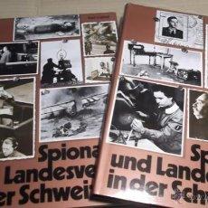 Libros de segunda mano: LÜÖND, KARL ; SPIONAGE UND LANDESVERRAT IN DER SCHWEIZ . ESPIA ESPIONAJE CIA GESTAPO MOSAD KGB. Lote 41222361