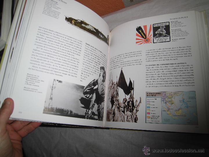 atlas ilustrado de la segunda guerra mundial.-f - Comprar