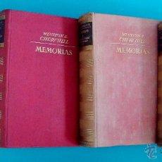 Libros de segunda mano: MEMORIAS LA SEGUNDA GUERRA MUNDIAL WINSTON CHURCHIL PRIMERA EDICION 1949. Lote 44073603