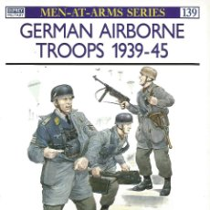 Libros de segunda mano: TROPAS AEROTRANSPORTADAS ALEMANAS 1939-45. Lote 44477363