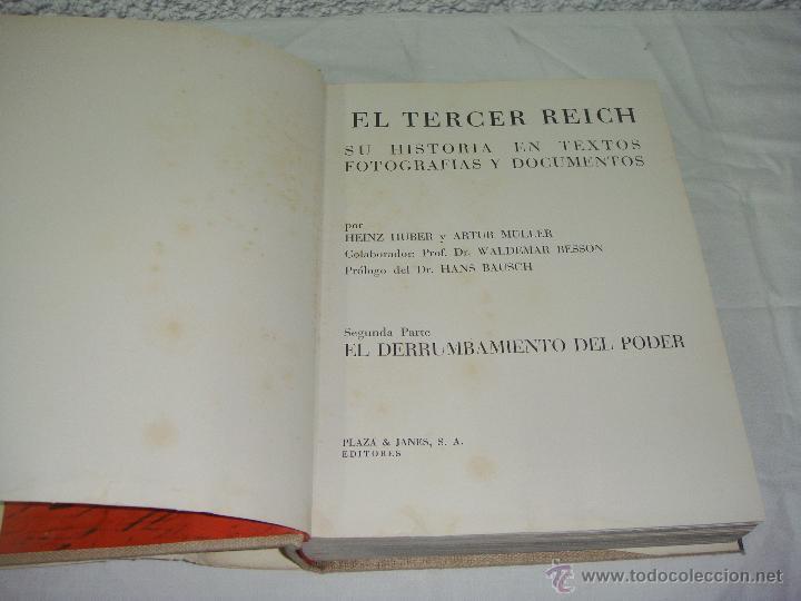Libros de segunda mano: El Tercer Reich. En Fotografías y Documentos. Volumen I y II. - Foto 2 - 44682184