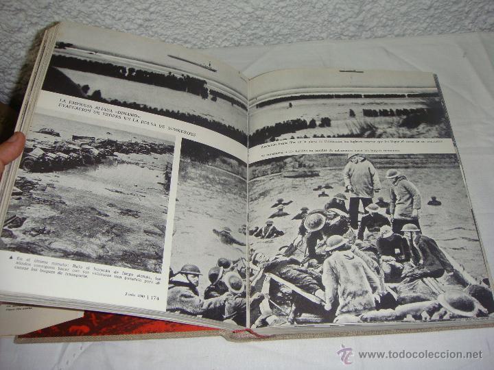 Libros de segunda mano: La 2ª Guerra Mundial. En fotografías y documentos. I, II y III Volúmenes. - Foto 4 - 44683155