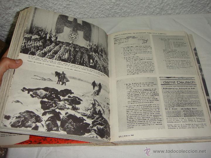 Libros de segunda mano: La 2ª Guerra Mundial. En fotografías y documentos. I, II y III Volúmenes. - Foto 6 - 44683155