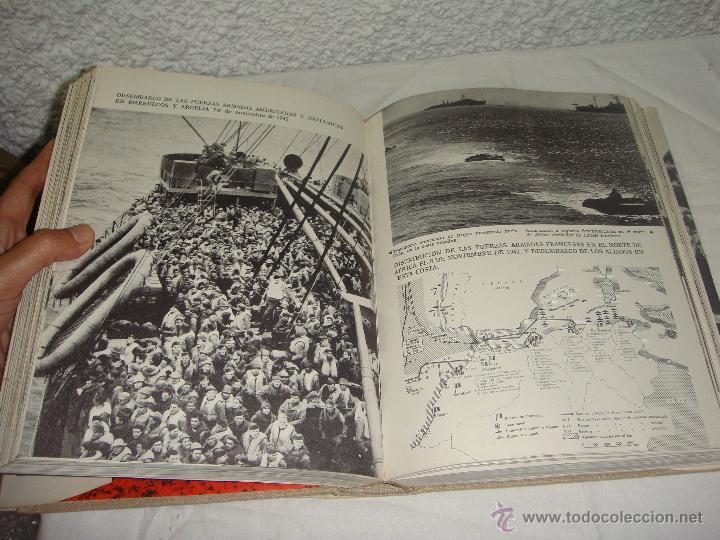 Libros de segunda mano: La 2ª Guerra Mundial. En fotografías y documentos. I, II y III Volúmenes. - Foto 7 - 44683155