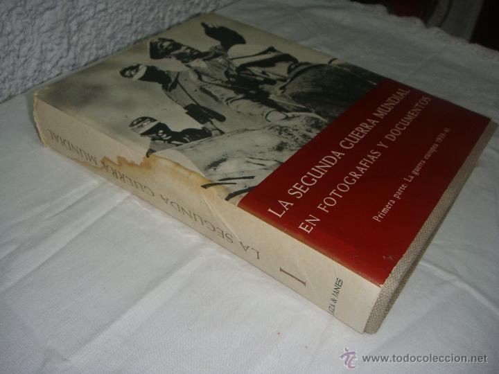 Libros de segunda mano: La 2ª Guerra Mundial. En fotografías y documentos. I, II y III Volúmenes. - Foto 8 - 44683155