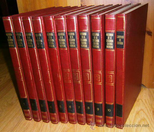 HISTORIA DE LA SEGUNDA GUERRA MUNDIAL 11T POR TTE. CNEL. EDDY BAUER DE ED. SALVAT EN NAVARRA 1981 (Libros de Segunda Mano - Historia - Segunda Guerra Mundial)