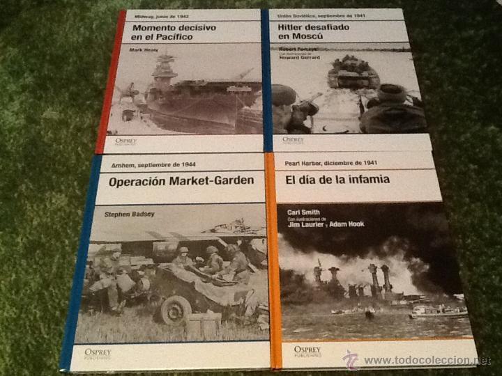 4 FASCÍCULOS OSPREY SEGUNDA GUERRA MUNDIAL N.1 (Libros de Segunda Mano - Historia - Segunda Guerra Mundial)