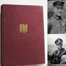 Libros de segunda mano: ROMMEL LIBRO 1952 PRÓL. DEL MARISCAL AUCHINLECK BIOGRAFÍA MILITAR II GUERRA MUNDIAL NAZIS NAZI FOTOS. Lote 47777295