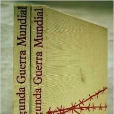 Libros de segunda mano: GRAN GUERRA Y REVOLUCIÓN RUSA, SEGUNDA GUERRA MUNDIAL, GUERRAS DE LA POSTGUERRA, 4 TOMOS. Lote 48835038