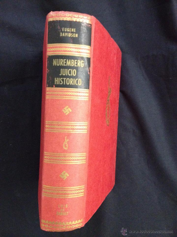 NUREMBERG JUICIO HISTORICO (Libros de Segunda Mano - Historia - Segunda Guerra Mundial)