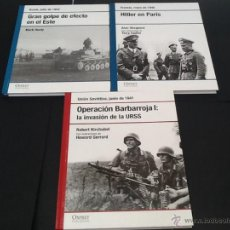 Libros de segunda mano: 3 FASCÍCULOS OSPREY SEGUNDA GUERRA MUNDIAL N.2. Lote 46231505