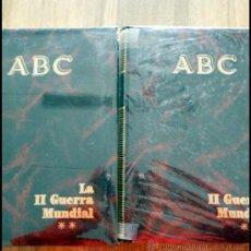 Libros de segunda mano: LA II GUERRA MUNDIAL EN 2 VOLUMENES. COLECCIONABLE ABC. COMPLETO. Lote 52445873
