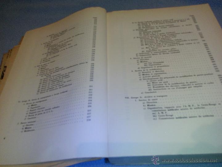 Libros de segunda mano: Rapport du Chef de LEtat-Major General de LArmee au Commandant en Chef de LArmee 1939-1945 - Foto 4 - 52459203