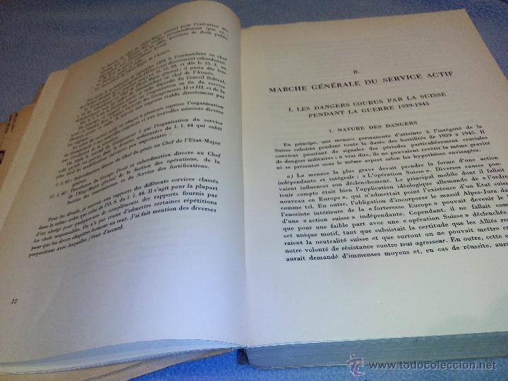 Libros de segunda mano: Rapport du Chef de LEtat-Major General de LArmee au Commandant en Chef de LArmee 1939-1945 - Foto 5 - 52459203