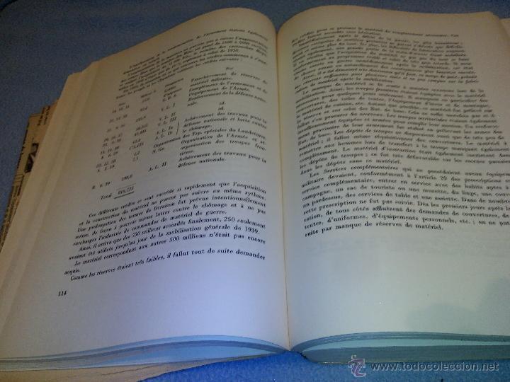 Libros de segunda mano: Rapport du Chef de LEtat-Major General de LArmee au Commandant en Chef de LArmee 1939-1945 - Foto 6 - 52459203