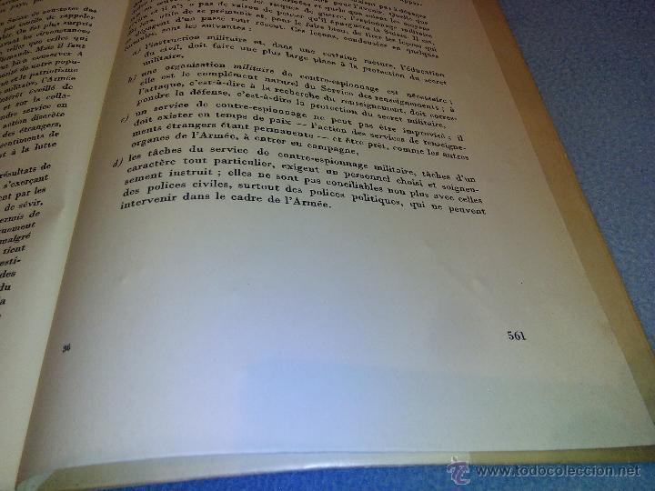 Libros de segunda mano: Rapport du Chef de LEtat-Major General de LArmee au Commandant en Chef de LArmee 1939-1945 - Foto 8 - 52459203
