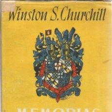 Libros de segunda mano: MEMORIAS. WINSTON S. CHURCHILL. V. EL GRAN ANILLO ** . JOSÉ JANES EDITOR. BARCELONA. 1952. Lote 52724291