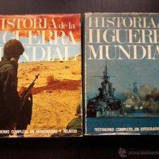 Libros de segunda mano: HISTORIA DE LA SEGUNDA GUERRA MUNDIAL. 2 TOMOS (OBRA COMPLETA) A. ROTHBERG. Lote 52750309