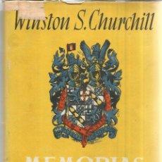 Libros de segunda mano: MEMORIAS. WINSTON S. CHURCHILL. III. LA GRAN ALIANZA ** . JOSÉ JANES EDITOR. BARCELONA. 1950. Lote 52782643
