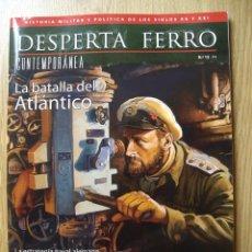 Libros de segunda mano: DESPERTA FERRO. HISTORIA CONTEMPORANEA. Nº 12. LA BATALLA DEL ATLÁNTICO. Lote 54285063