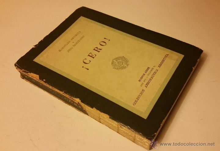 1958 - MASAYAKE OKUMITA / JIRO HORIKOSHI - ¡CERO! - AVIACIÓN, SEGUNDA GUERRA MUNDIAL (Libros de Segunda Mano - Historia - Segunda Guerra Mundial)