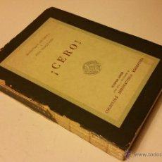 Gebrauchte Bücher - 1958 - MASAYAKE OKUMITA / JIRO HORIKOSHI - ¡CERO! - AVIACIÓN, SEGUNDA GUERRA MUNDIAL - 54289516